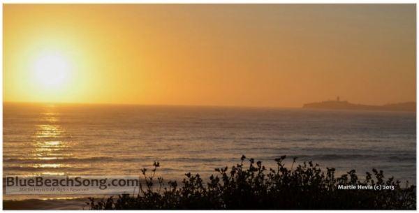 Golden Sunset VI © Martie Hevia